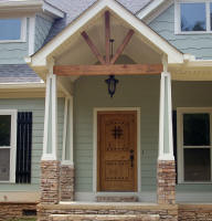 new house front door