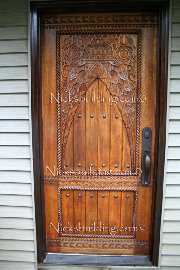 Exterior door gallery wooden pictures