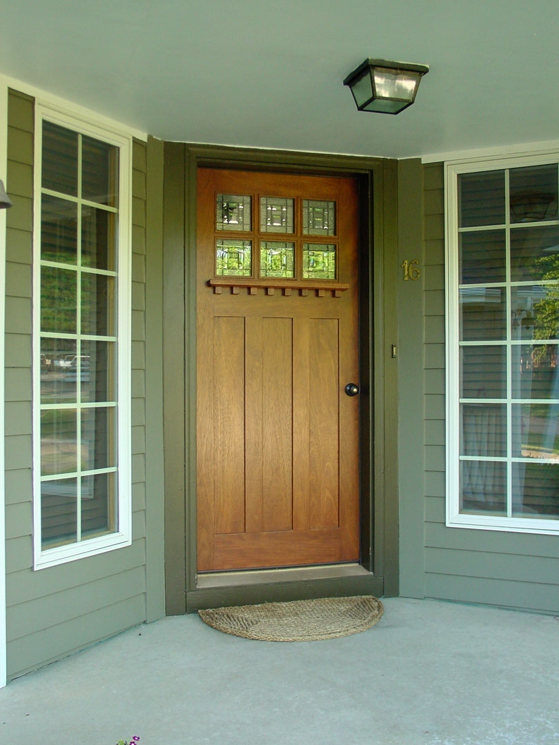 Craftsman doors mission doors exterior doors front doors for Exterior front entry doors