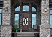 luxury wood door