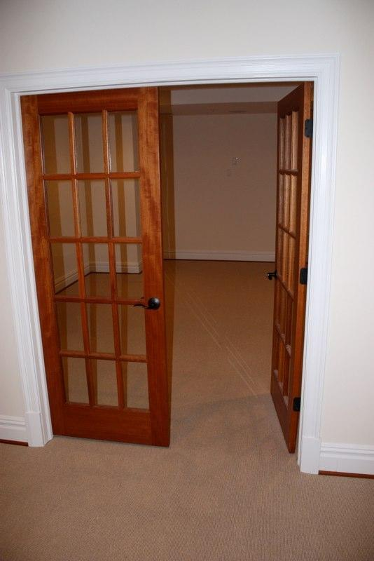 Interior french doors mahogany for Interior french doors
