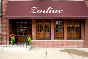 doors on Zodiac Cafe