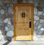 building remodel front wood door