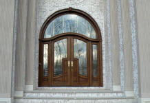 600a mahogany wood door