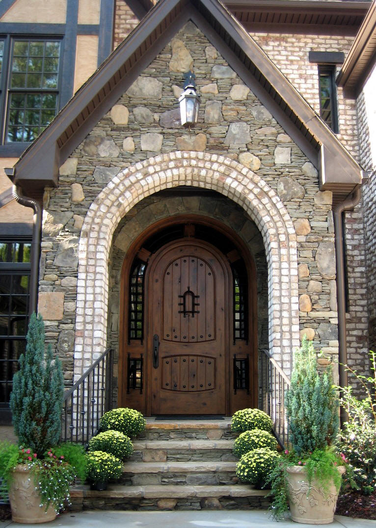 These Rustic Entry Doors Can Really Make A Statement! Highly Detailed  Rustic Exterior Doors