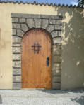 wood door in San Antonio