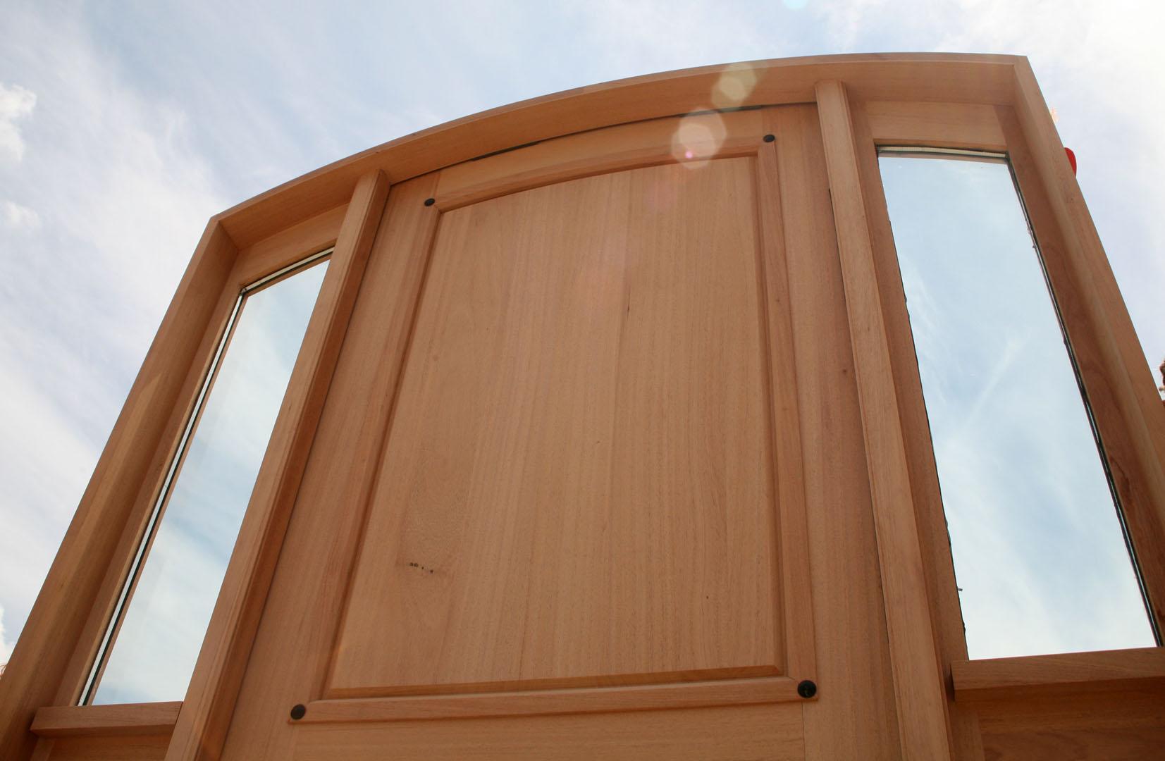 1080 #482410 Custom Mahogany Door Radius Arched Top Door wallpaper Radius Top Entry Doors 38951653
