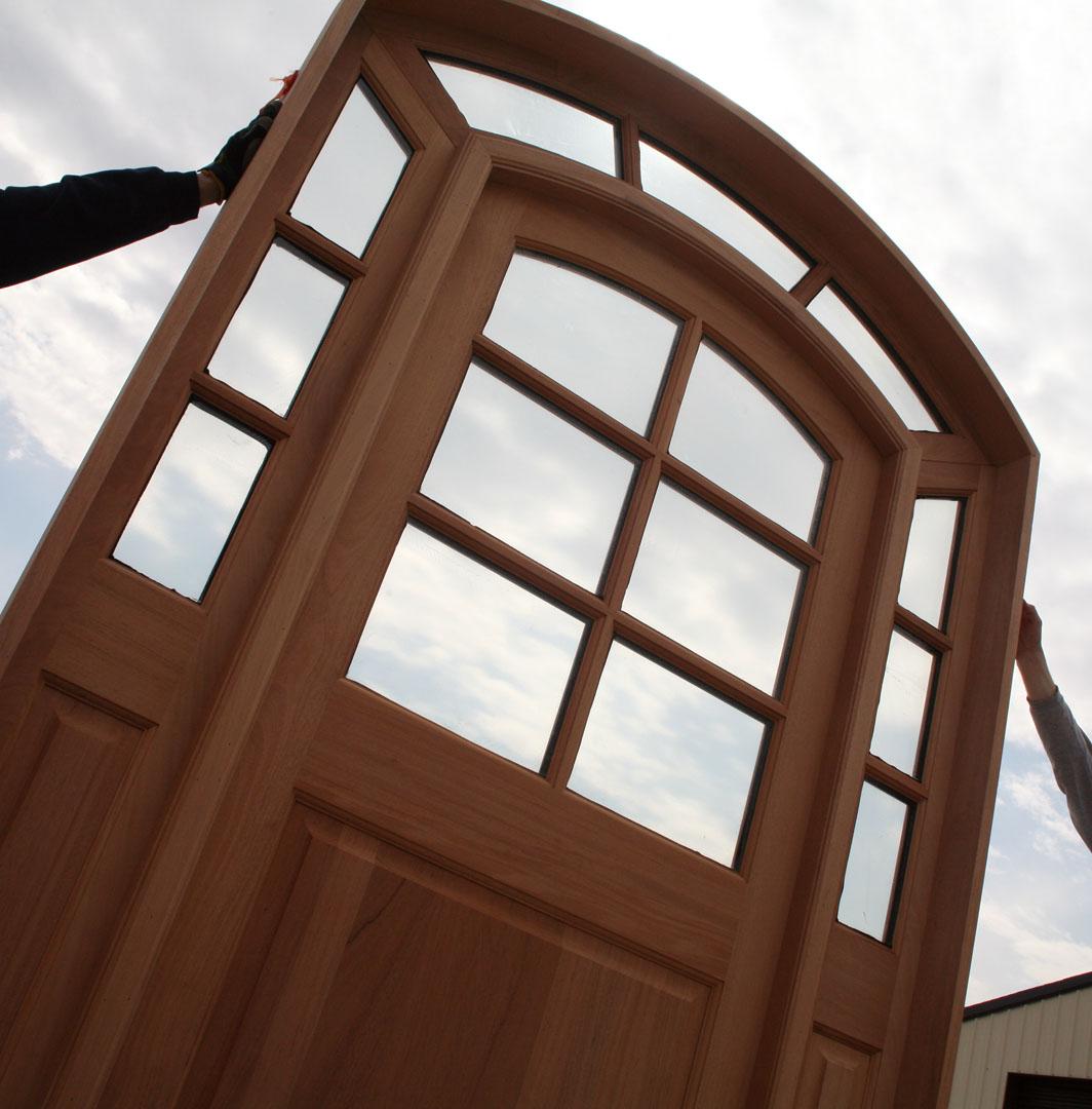 1080 #412418 Custom Door Series Radius Arch Top Door wallpaper Radius Top Entry Doors 38951064