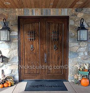 Rustic Double Doors Sale