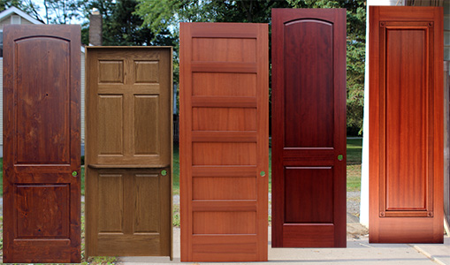 Interior Doors Mahogany Oak Alder Maple Wood Doors - Interior doors
