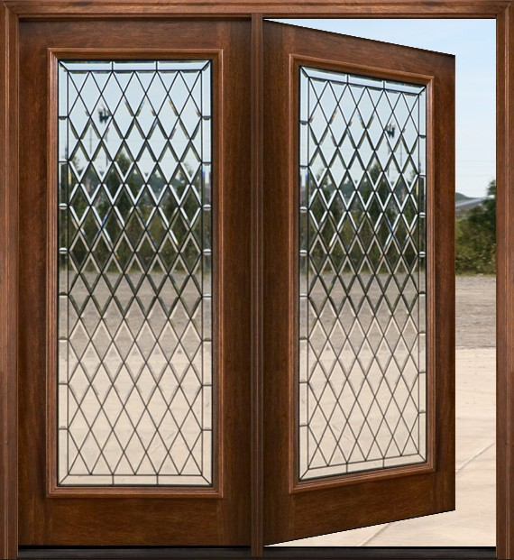 Patio door model n250 chateau for Wood french patio doors