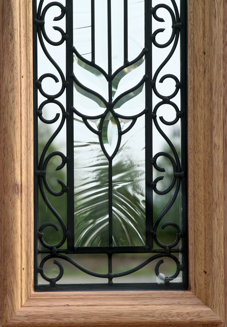 Exterior Wrought Iron Doors With Sidelights