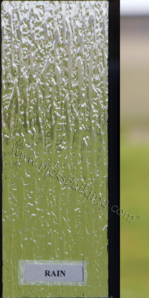 Custom Door Rain Glass at Nicksbuilding.com