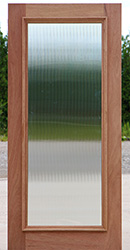 Reed Glass for Full Lite Door