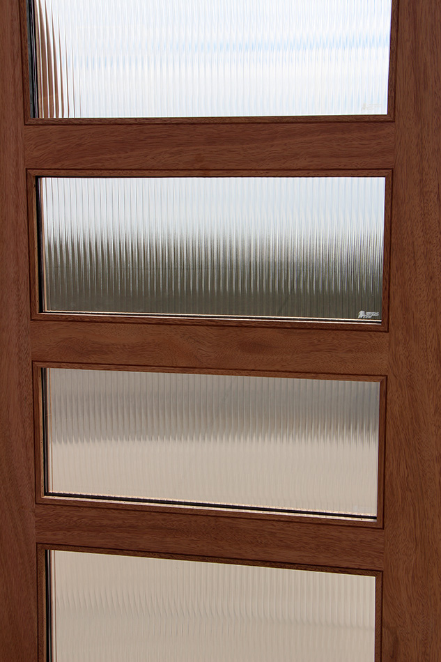 Ordinaire Reeded Glass