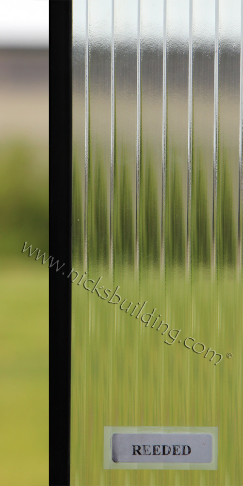Reeded Door Glass Custom at Nicksbuilding.com