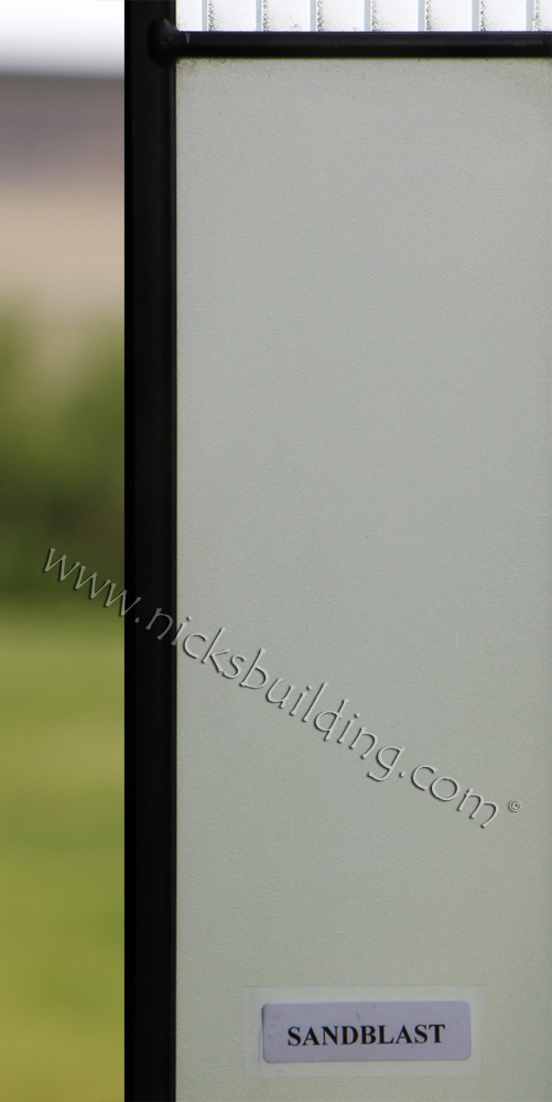 Sandblast Glass for Custom Order Doors at Nicksbuilding.com