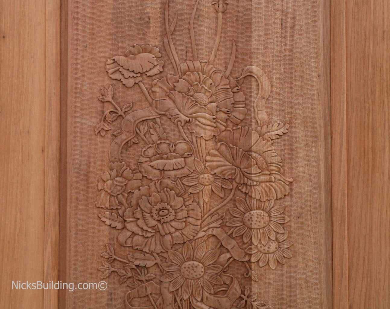Carved Doors - Hand Carved Doors - Carved Mahogany Doors