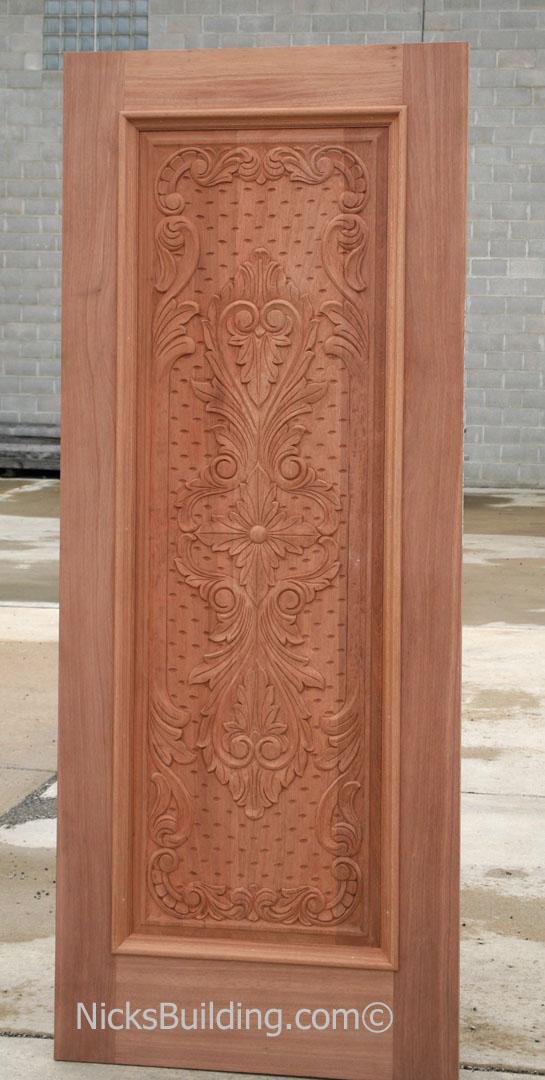 Carved Mahogany Doors Hand Carved Mahogany Doors