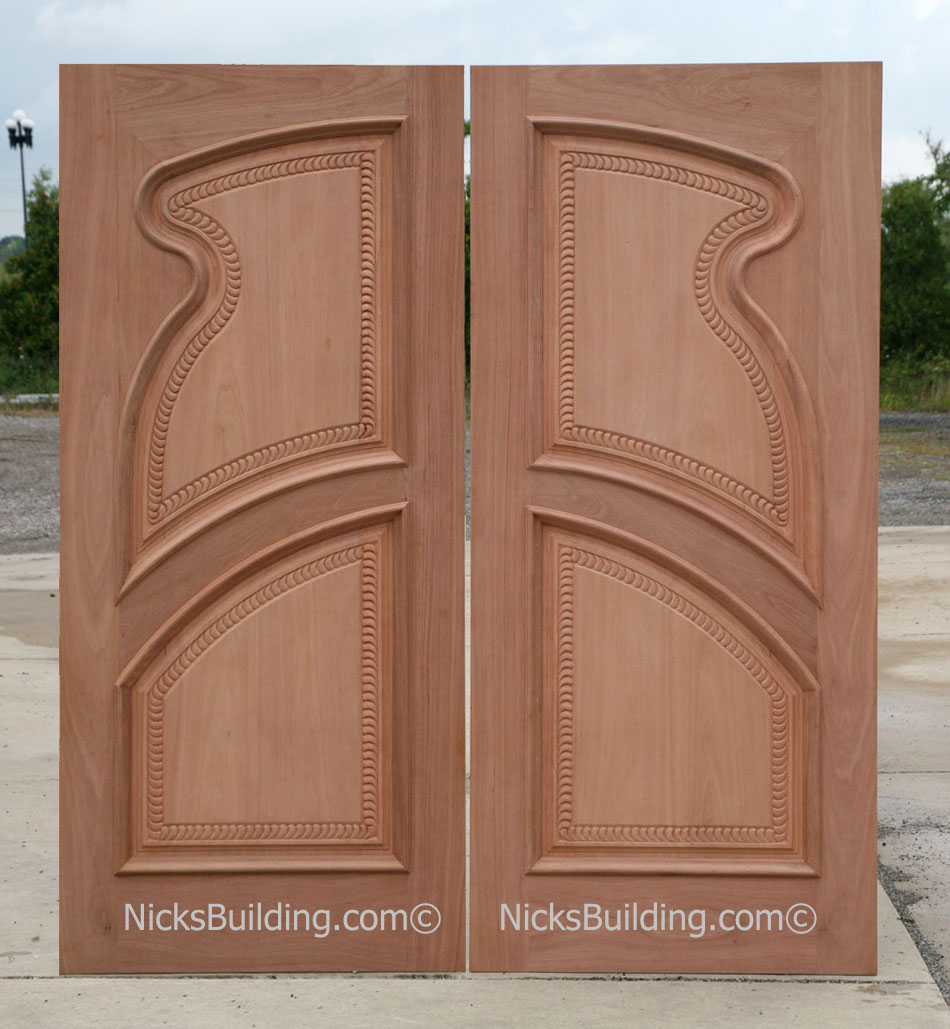 Hand Carved Doors Exterior Hand Carved Mahogany Doors