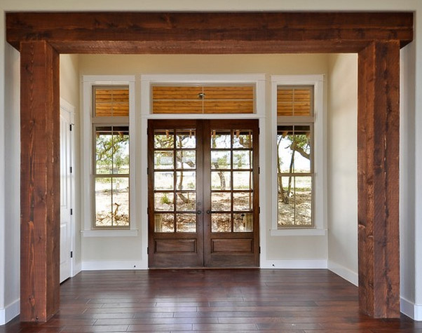 Exterior Double Doors - Interior Design