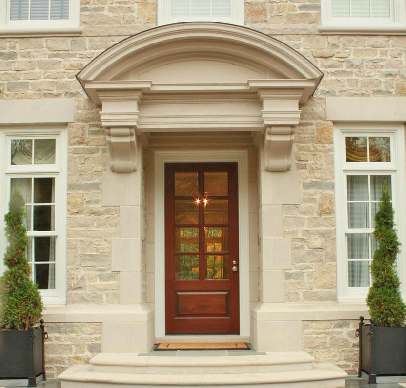 Mahogany exterior single doors in 8ft height for 8 foot exterior doors