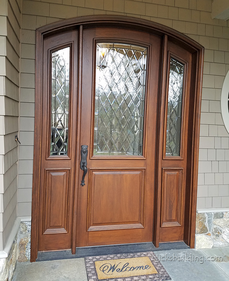 Front Door App: Exterior Arched Top Doors