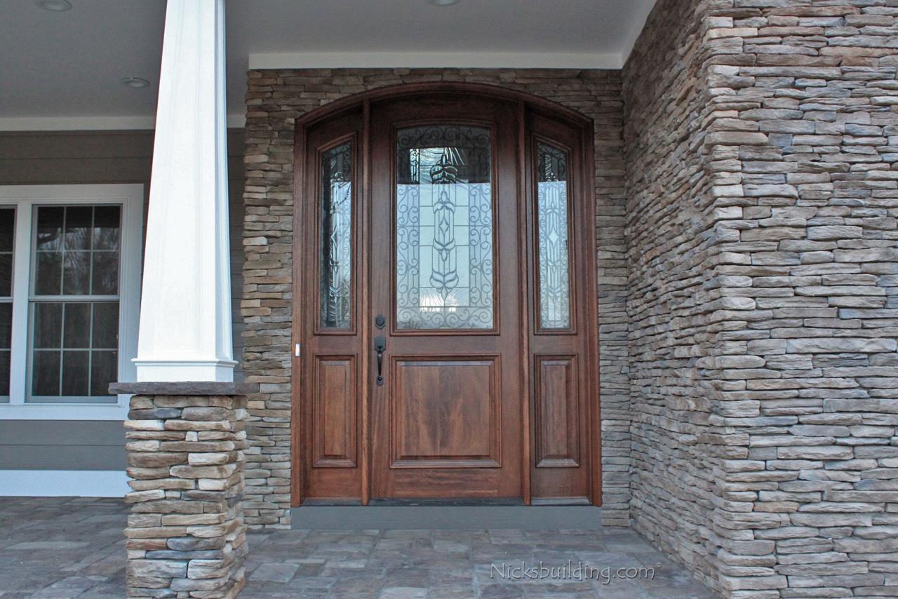 Arched doors exterior arched top doors mahogany door for Exterior entry door