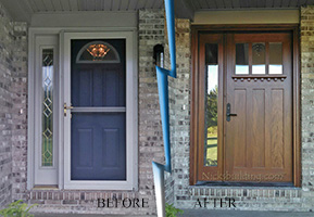 Craftsman exterior front door replacement doors