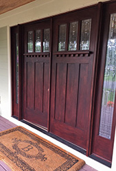 Craftsman Door refinishing After