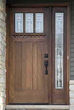 Craftsman Entry Door with 1 sidelite