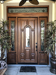 Custom Transom Doors
