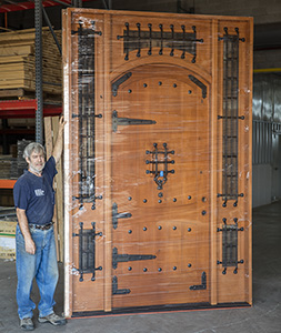 Custom Rustic Vienna Door