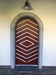 Custom Made Round Top Entry Door