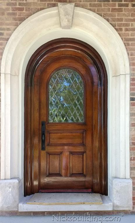 Phenomenal Arched Top Exterior Mahogany Doors Door Handles Collection Dhjemzonderlifede
