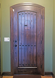 Rustic Arched Top Doors