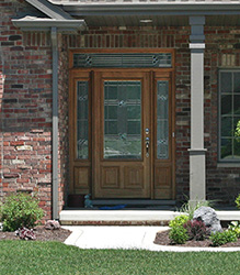 exterior wood doors for single family homes