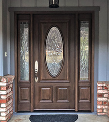 Oval Glass Replacement Door