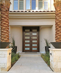 modern entry doors in Hawaii