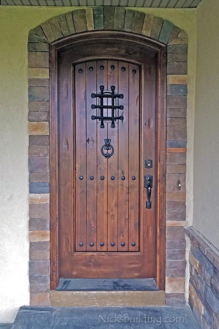 Alder Doors Rustic Exterior Amp Arch Top Doors