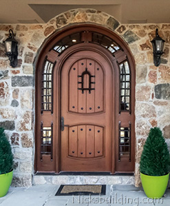 Teak Pompano Door in Conneticut