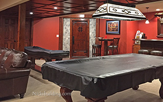 Wine Cellar Door with Game room