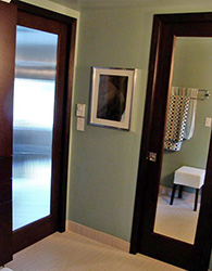 interior doors with reeded glass full-lite