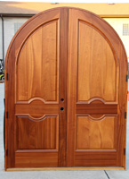 Arched Double Door Inside picture