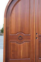 Arched Double Door Left Side
