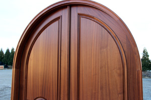 Arched Door Top half picture