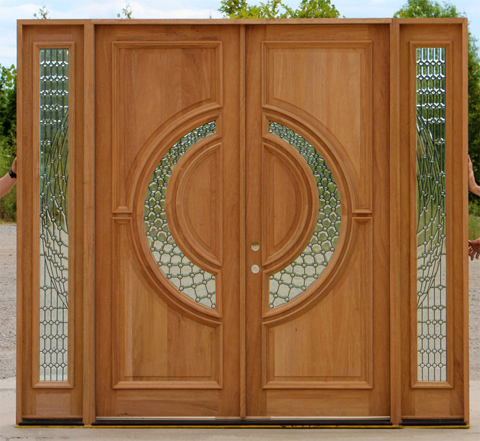 CL-15408 Tiffany Double Doors on Clearance