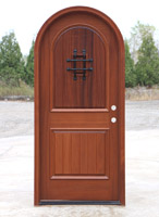 Round Top Door with Speakeasy