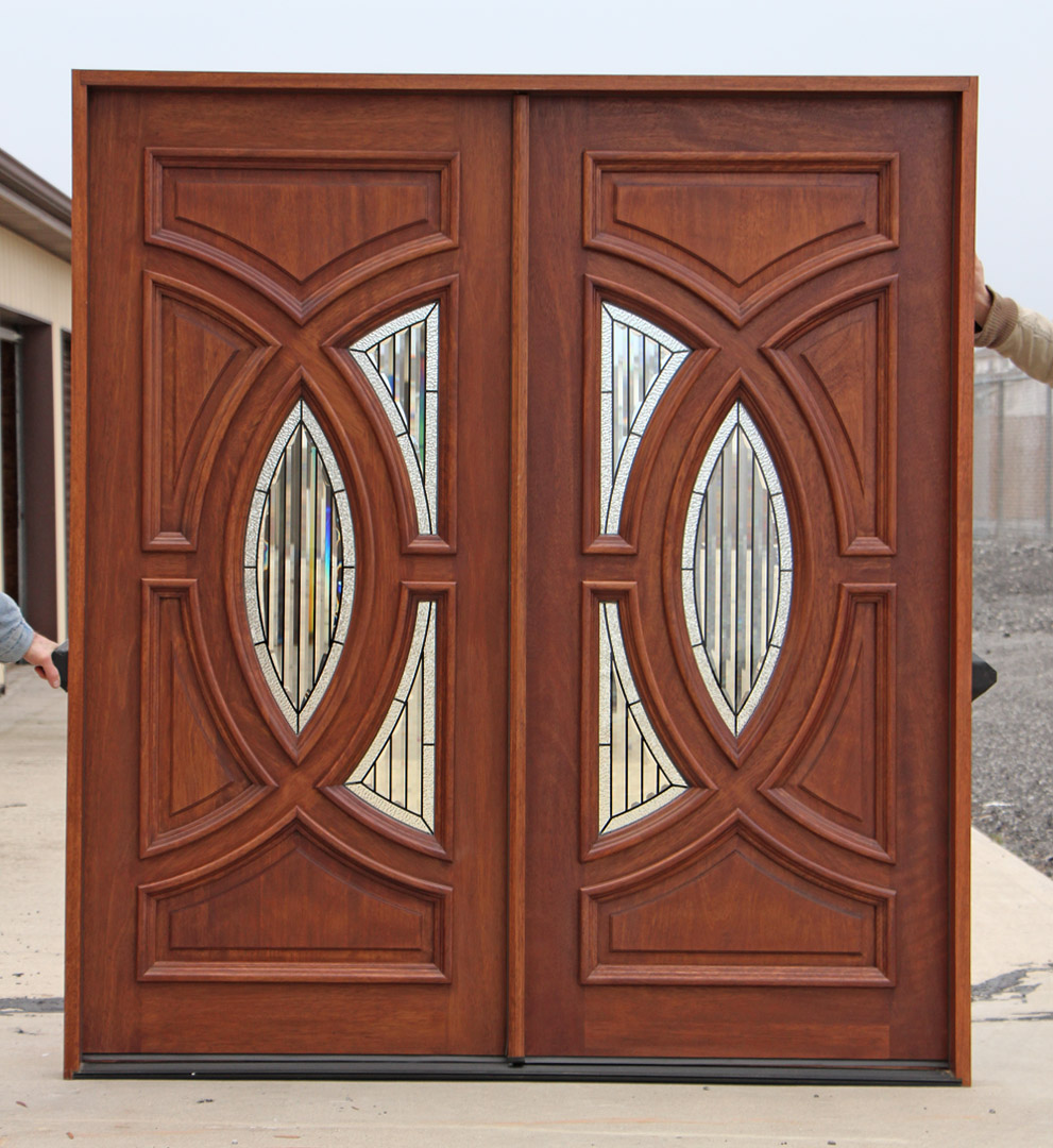 Exterior double doors for Exterior front entry double doors