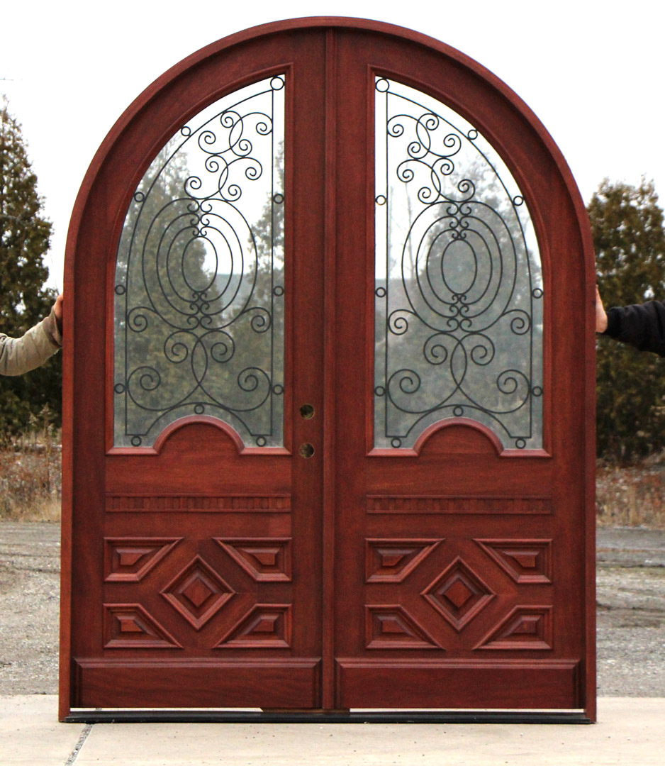 Home Entrance Door Arched Entrance Doors